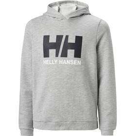 Helly Hansen HH Logo Hoodie Youth, grey melange